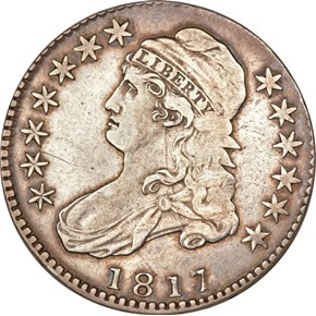 1817/4 50C MS obverse
