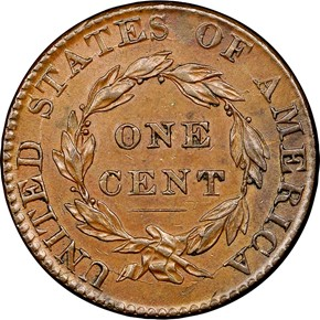 1824/2 1C MS reverse