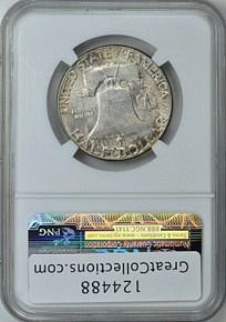 1952 50C MS reverse