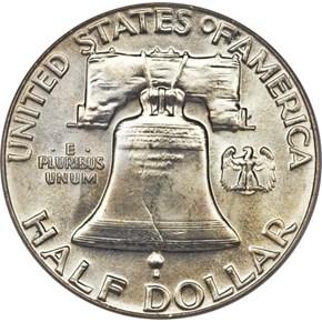 1960 50C MS reverse