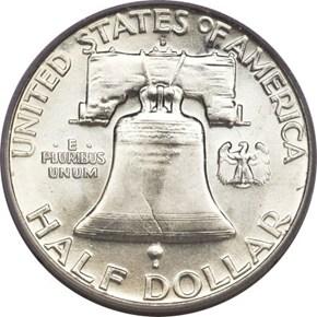 1960 D 50C MS reverse