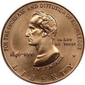 1996 W SMITHSON $5 MS obverse