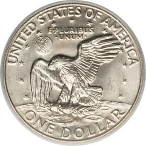 1973 D $1 MS reverse