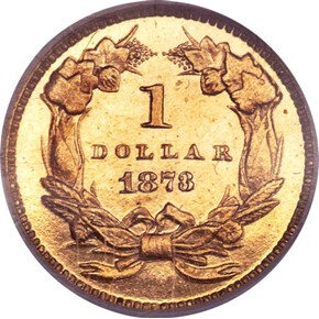1873 CLOSED 3 G$1 PF reverse