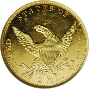 1836 HEAD OF 35 $2.5 PF reverse