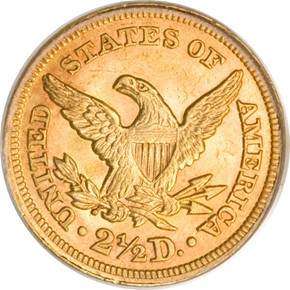 1858 $2.5 MS reverse