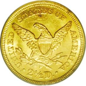 1860 TYPE 1 $2.5 MS reverse
