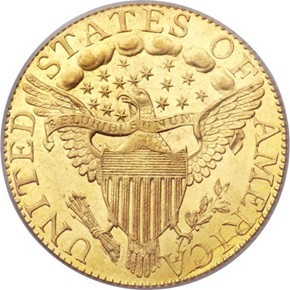 1795 LARGE EAGLE $5 MS reverse