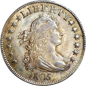 1805 25C MS obverse