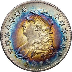 1815 B-1 25C MS obverse