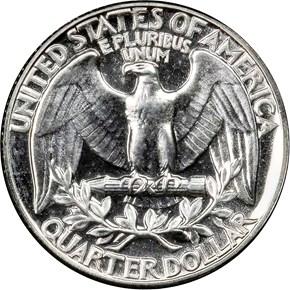 1952 25C PF reverse