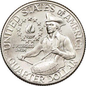 1776-1976 D 25C MS reverse
