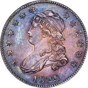 1825 25C MS obverse