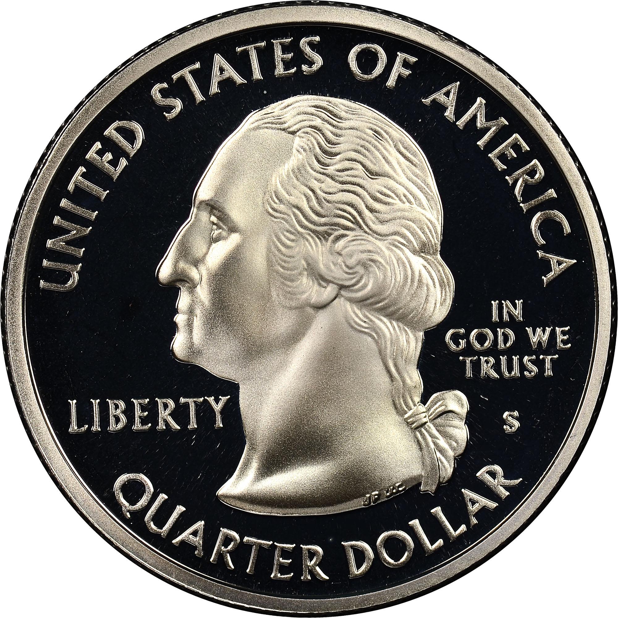 2004 s silver proof Iowa State quarter statehood series