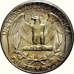 1939 D 25C MS reverse
