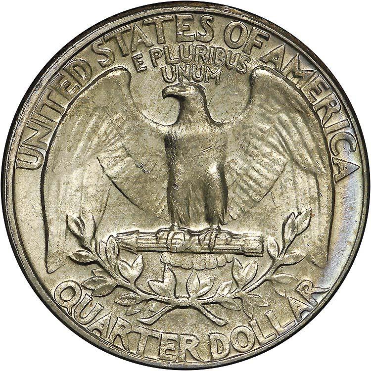 1966 25C MS Washington Quarters | NGC