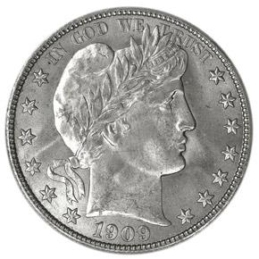 1909 50C MS obverse