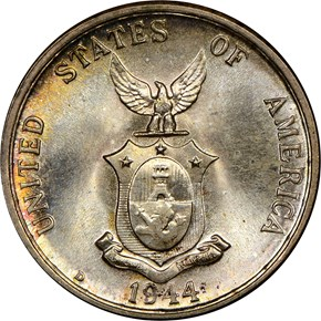1944 D USA-PHIL 20C MS reverse