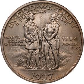 1937 BOONE 50C MS reverse