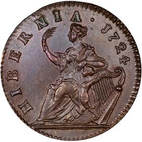 1724 HIBERNIA 1/2P MS reverse