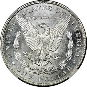 1880 S S$1 MS reverse