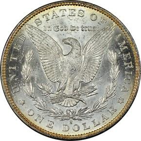 1894 S $1 MS reverse