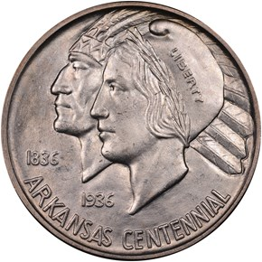 1939 D ARKANSAS 50C MS obverse