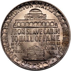 1947 BOOKER T. WASHINGTON 50C MS reverse