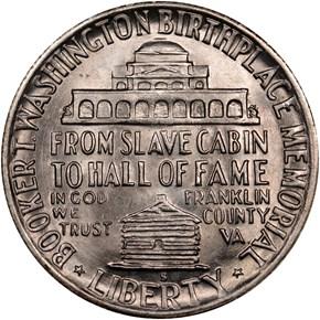 1949 S BOOKER T. WASHINGTON 50C MS reverse