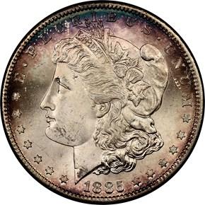 1885 S $1 MS obverse