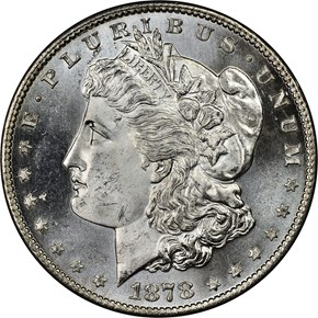1878 S S$1 MS obverse