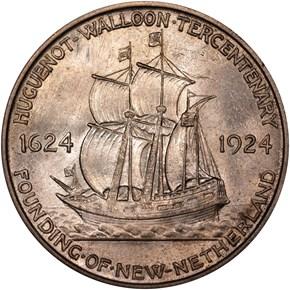 1924 HUGUENOT 50C MS reverse