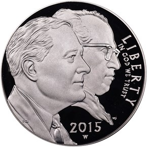 2015 W MARCH OF DIMES S$1 PF obverse