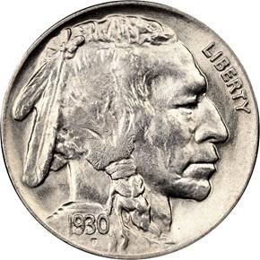 1930 5C MS obverse