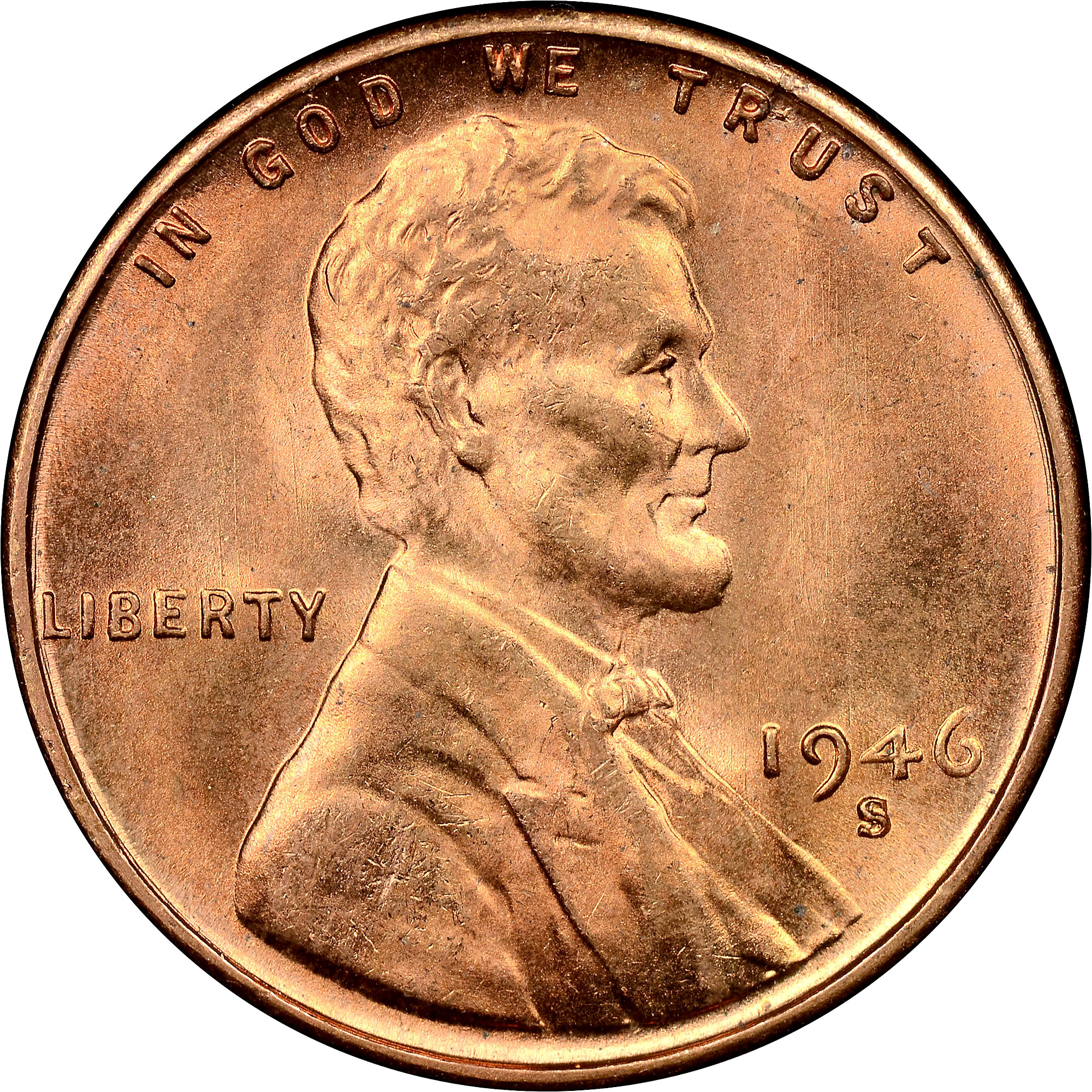 1946 S 1c Ms Lincoln Cents Wheat Reverse Ngc Wheat pennies underwent changes in design and content the lincoln wheat penny is the most collected coin in the world. 1946 s 1c ms lincoln cents wheat