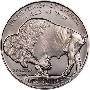 2001 D BUFFALO S$1 MS reverse