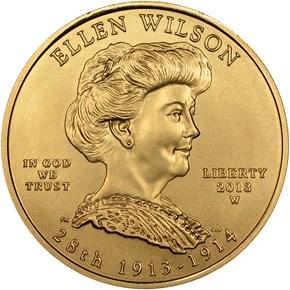 2013 W ELLEN WILSON G$10 MS obverse