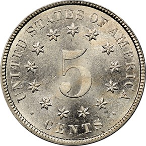1882 5C MS reverse