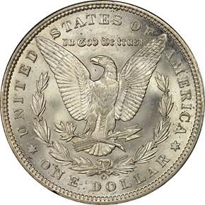 1892 O S$1 MS reverse