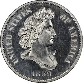 1859 J-253 50C PF reverse