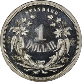 1871 J-1140 S$1 PF reverse