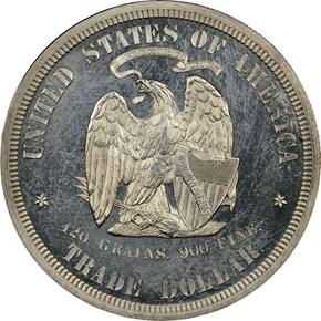 1873 J-1300 T$1 PF reverse