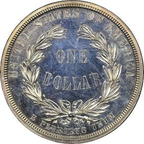 1876 J-1464 S$1 PF reverse