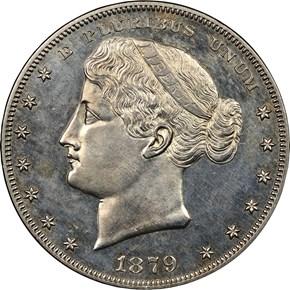 1879 J-1622 S$1 PF obverse