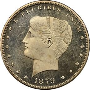 1879 J-1631 S$1 PF obverse