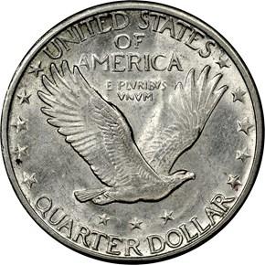 1926 S 25C MS reverse