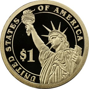 2015 S HARRY S. TRUMAN $1 PF reverse