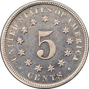 1872 5C PF reverse
