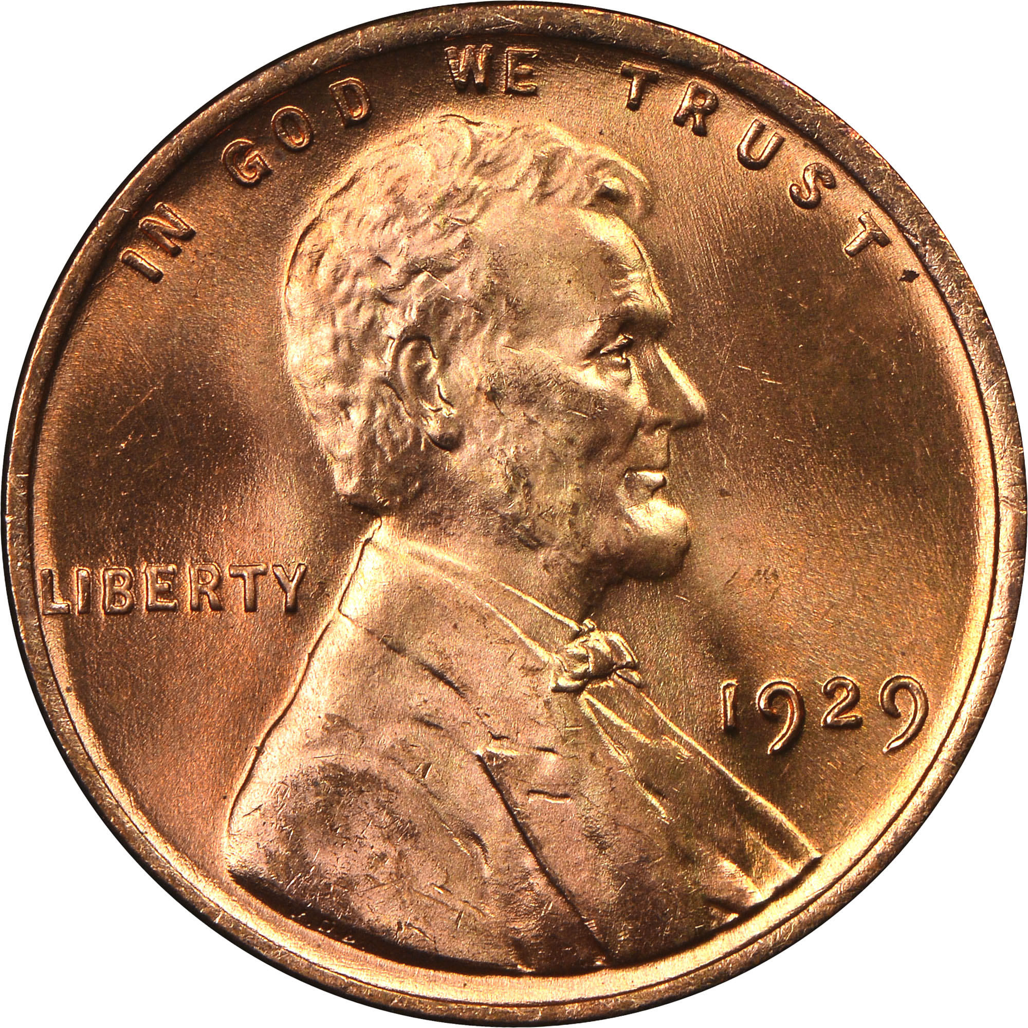 1929-P Penny Small Cent