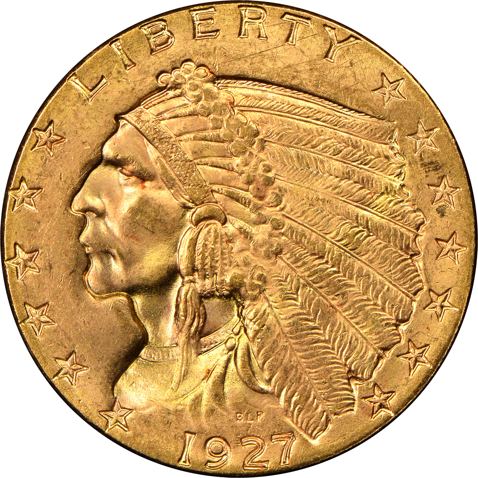 1927 2 5 Ms Indian Head 2 50 Ngc